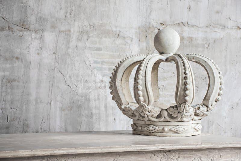 Decoraciones de la corona imágenes de archivo libres de regalías