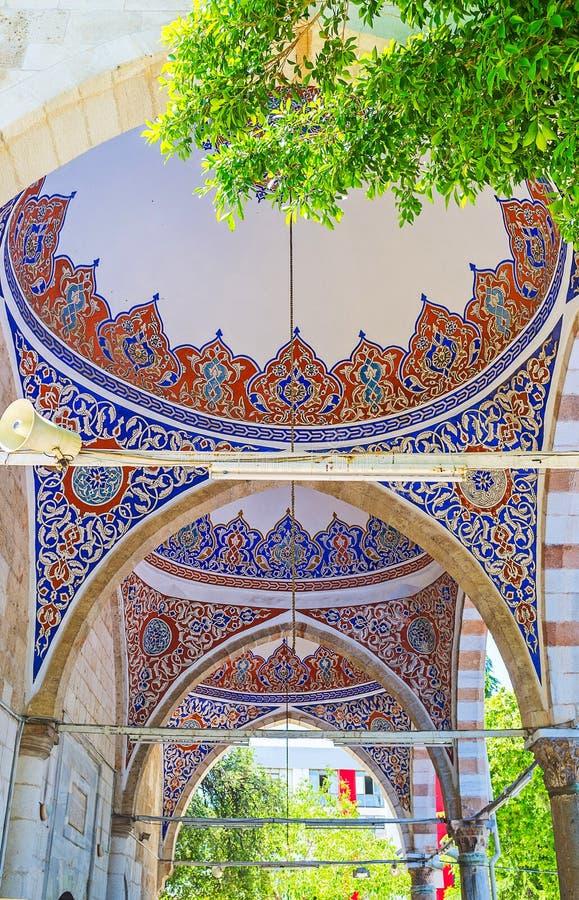 Download Decoraciones De La Mezquita De Muratpasa, Antalya Foto de archivo - Imagen de configuración, patio: 100530750