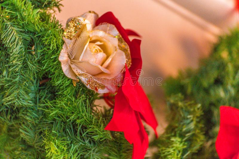 Decoraciones de la Navidad imágenes de archivo libres de regalías
