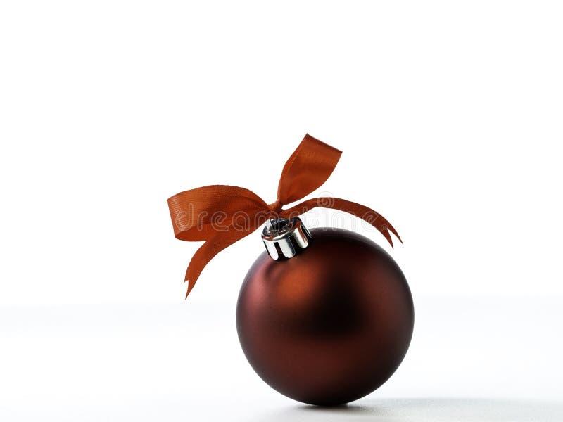 Decoraciones de la Navidad aisladas en el fondo blanco imagenes de archivo