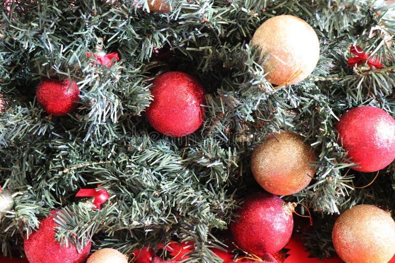 Decoraciones de la Navidad, atmósfera de la Navidad fotografía de archivo