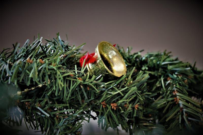 Decoraciones de la Navidad, atmósfera de la Navidad fotos de archivo libres de regalías