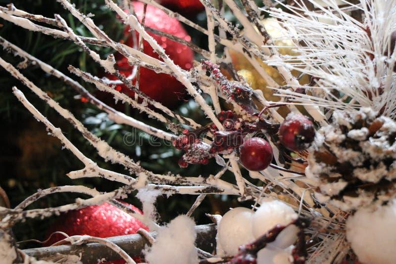 Decoraciones de la Navidad, atmósfera de la Navidad imagen de archivo libre de regalías