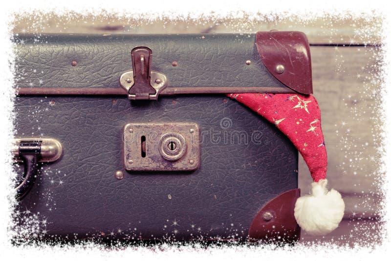 Decoraciones de la Navidad Concepto del día de fiesta de Navidad imagen de archivo libre de regalías