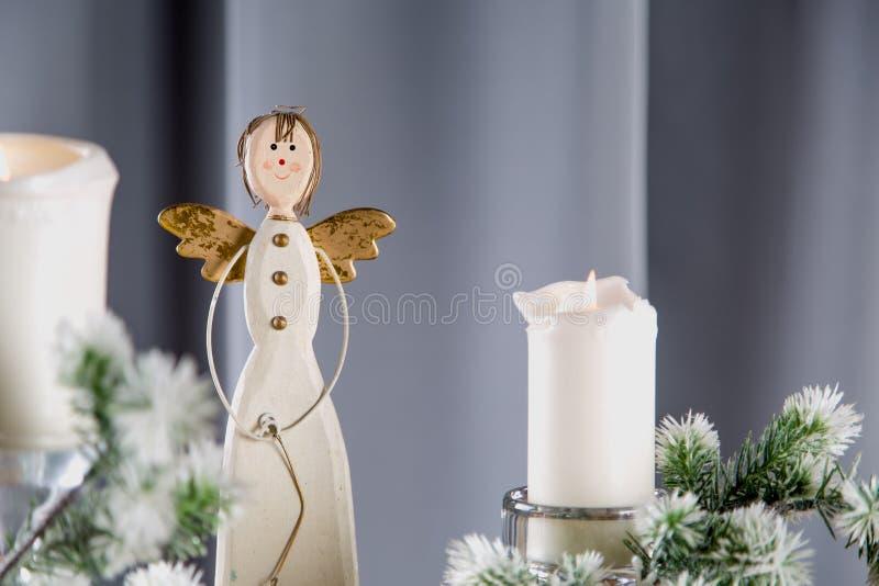 Decoraciones de la Navidad, concepto relacionado del hogar del día de fiesta imagen de archivo