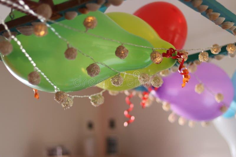 Decoraciones de la sirena fotografía de archivo libre de regalías