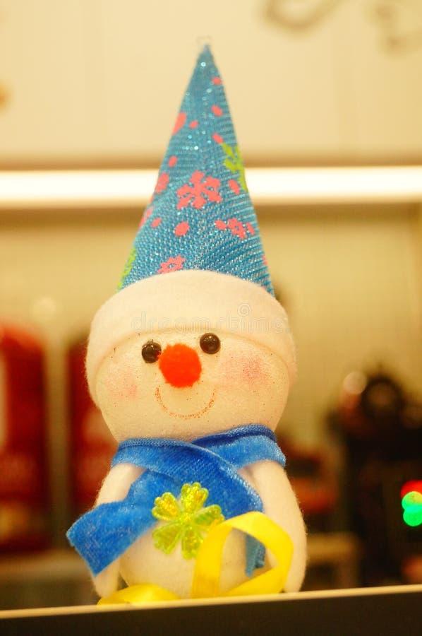 Decoraciones de Papá Noel y de la Navidad imagenes de archivo