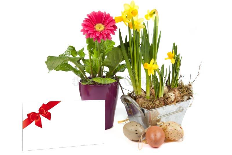 Decoraciones de Pascua foto de archivo