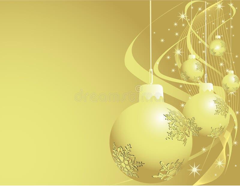 Decoraciones del Año Nuevo libre illustration
