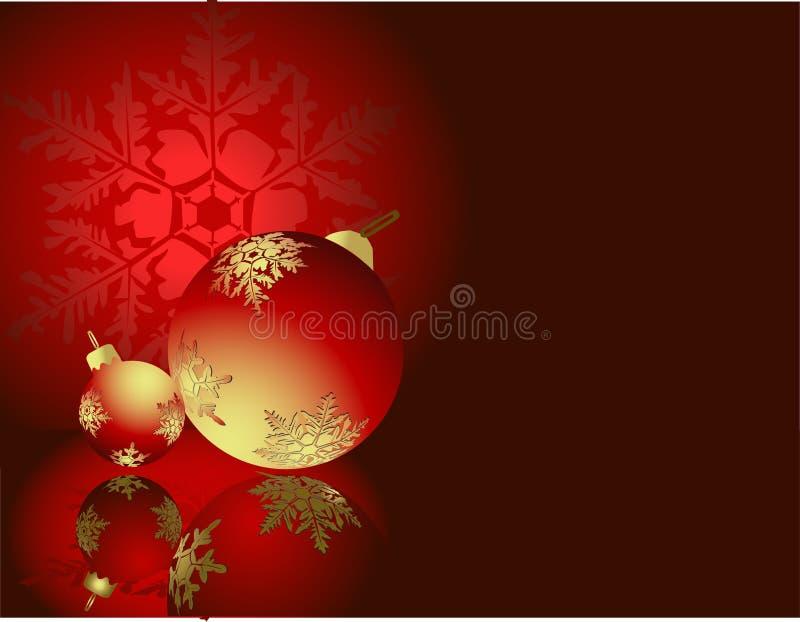 Decoraciones del Año Nuevo stock de ilustración