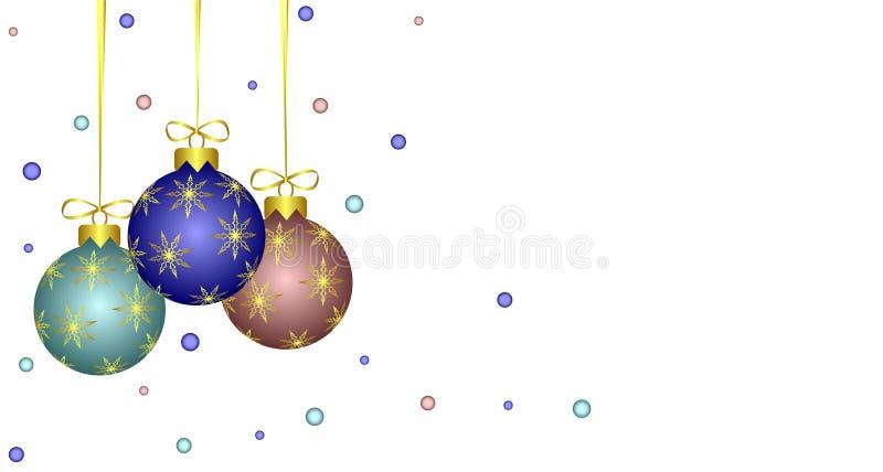 decoraciones del Nuevo-año. ilustración del vector