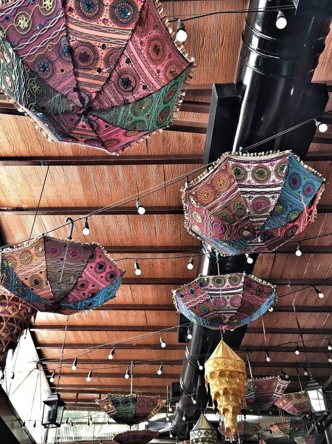 Decoraciones del techo imagen de archivo libre de regalías