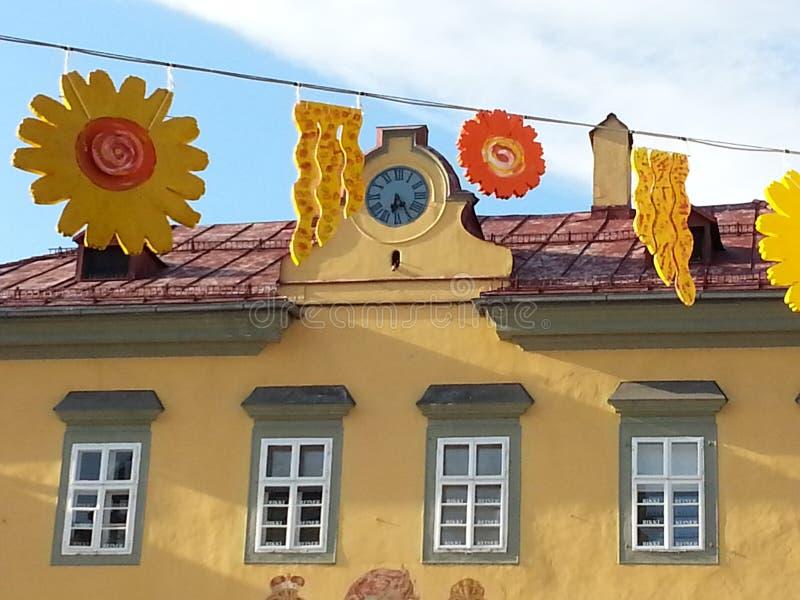 Decoraciones en Klagenfurt, en Austria imágenes de archivo libres de regalías