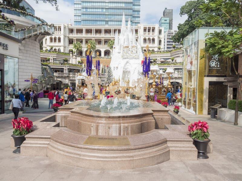 Decoraciones en la herencia 1881, Hong-Kong de la Navidad foto de archivo