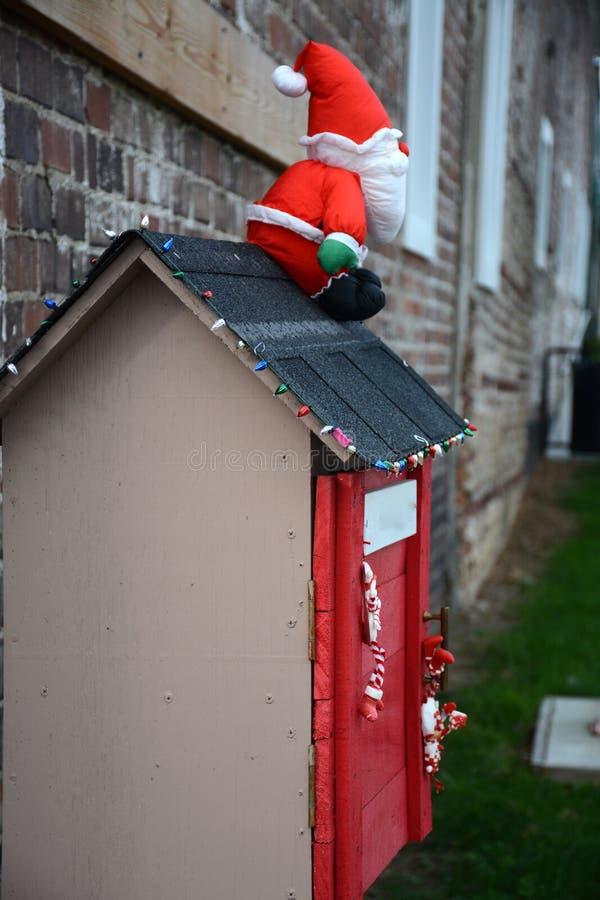 Decoraciones para la Navidad fotografía de archivo