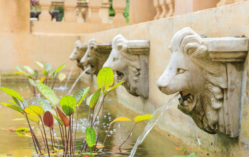 Download The decorate garden. stock photo. Image of matey, lion - 31360262