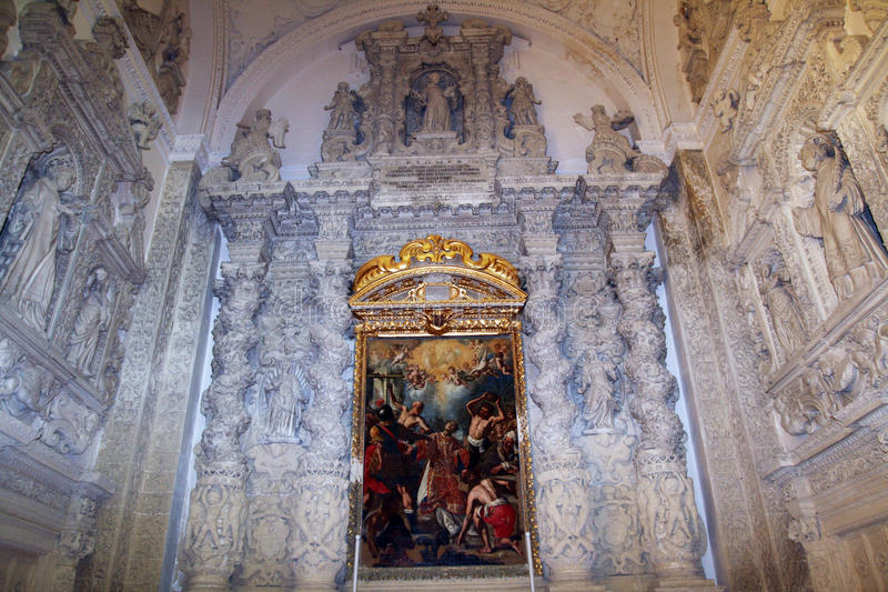 Download Baroque chapel stock photo. Image of apulia, marble, italy - 30023524