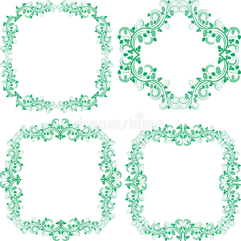 Download Decorated borders stock vector. Illustration of curves - 22303003