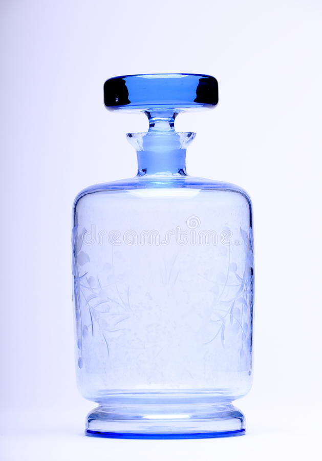 Decorated Bottle stock image