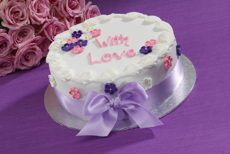Decorated Cake Royalty Free Stock Photo