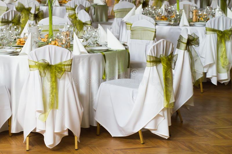 Download Decorated Chairs Stock Image. Image Of Fancy, Napkin   34647399