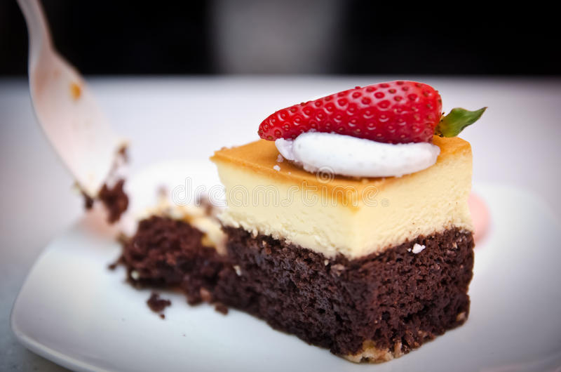 Download Decorated Chocolate And Cheese Cake Stock Image - Image: 24307253