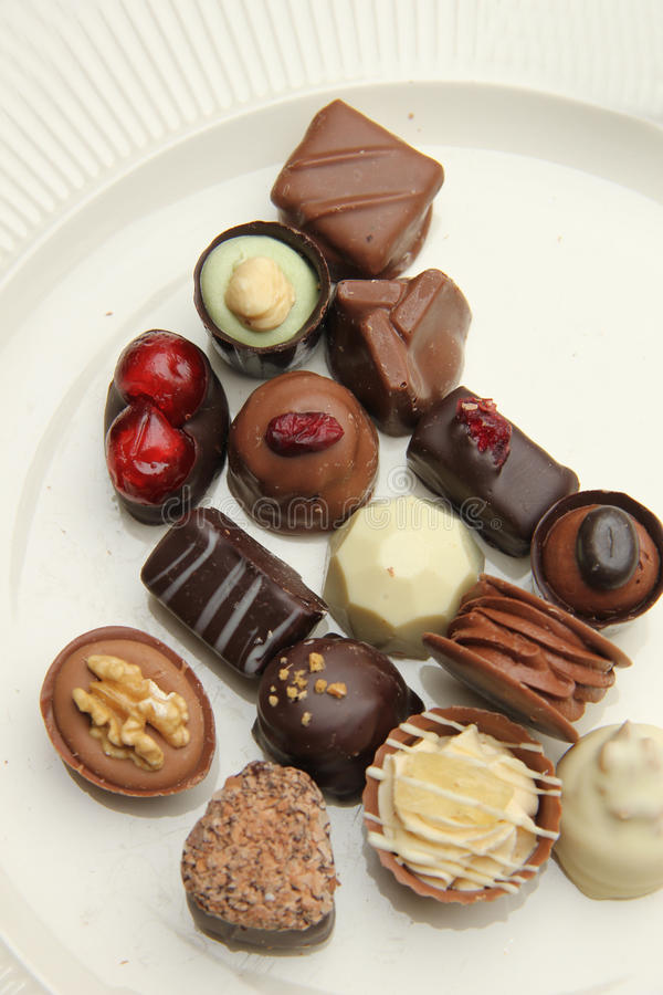 Download Decorated chocolates stock image. Image of milk, cocoa - 29010773