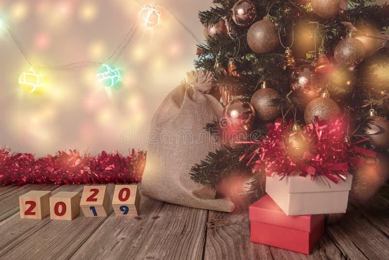 Happy New Year 2020, bye-bye 2019 royalty free stock photos