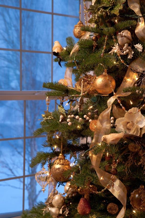 Free Decorated Christmas Tree Stock Image - 12993281