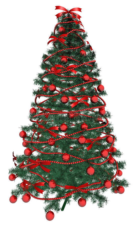 Download Decorated Christmas Tree Stock Images - Image: 26858754