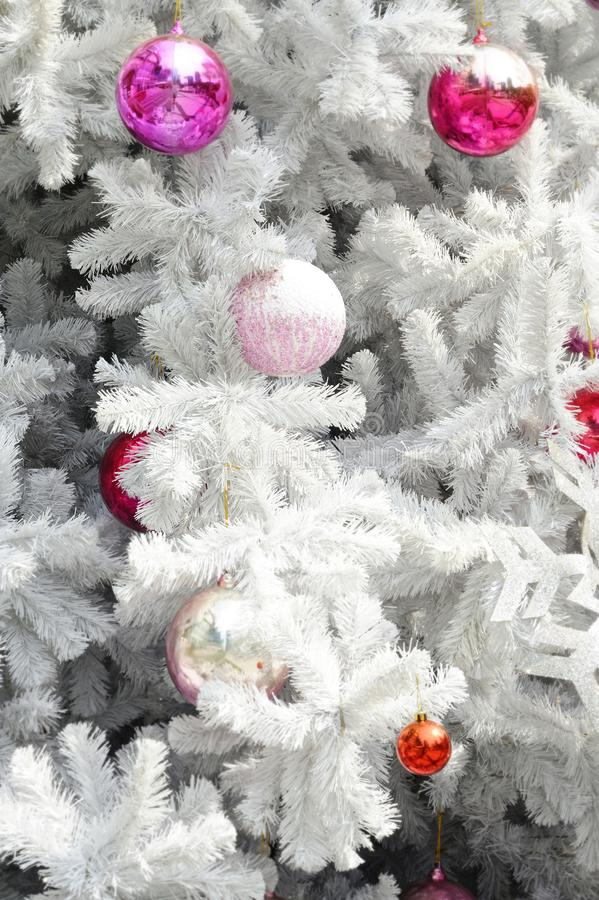 Decorated christmas stock photos