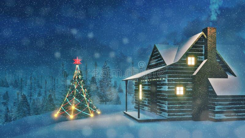 Outdoors Christmas Lights
