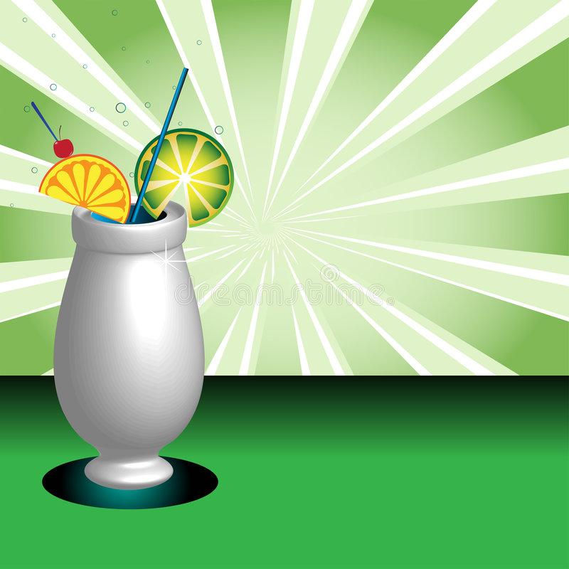 Download Decorated Cocktail Glass Stock Images - Image: 9156294
