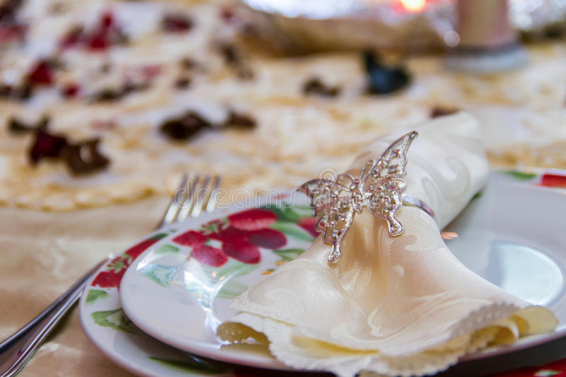 Decorated Dish royalty free stock photo