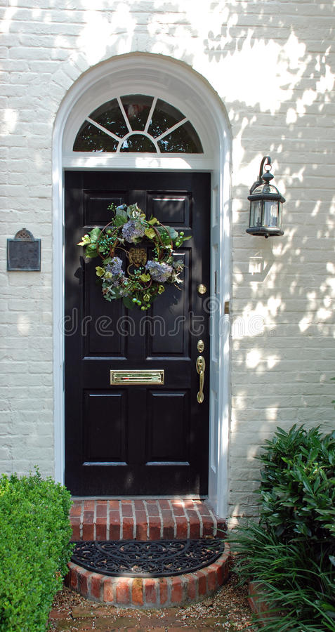 Download Decorated Door stock photo. Image of white, house, sports - 28646434
