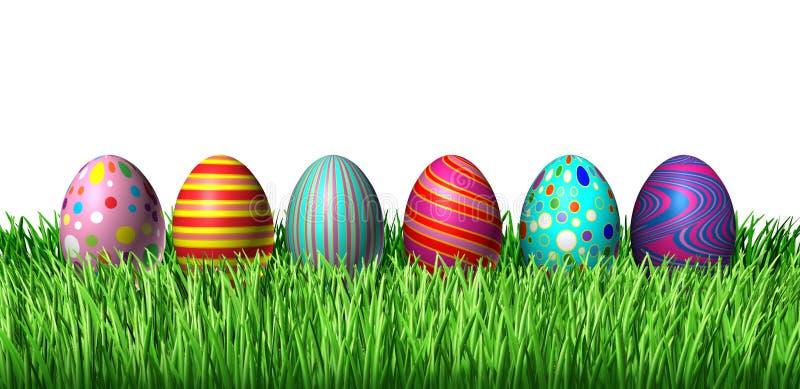 Decorated Eggs stock illustration