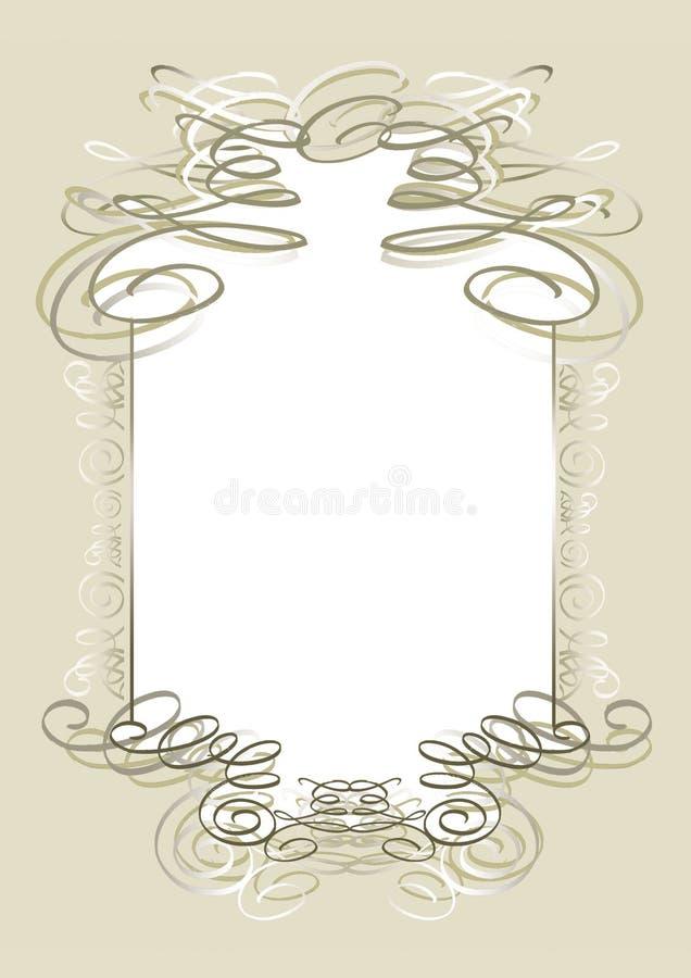 Download Decorated frame stock illustration. Illustration of adorned - 587366