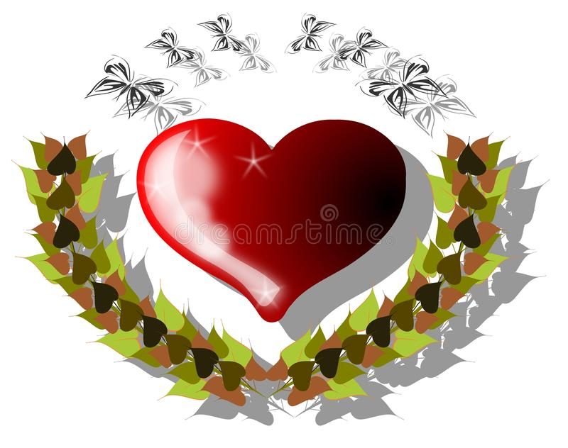 Download Decorated Heart Stock Photo - Image: 19392490