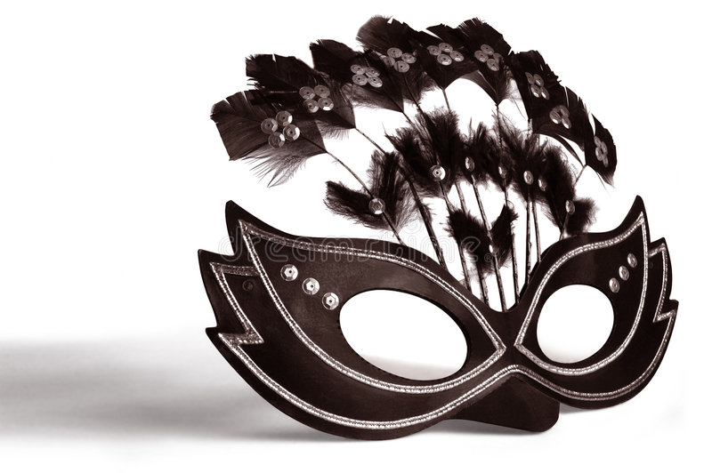 Decorated Mask royalty free stock image