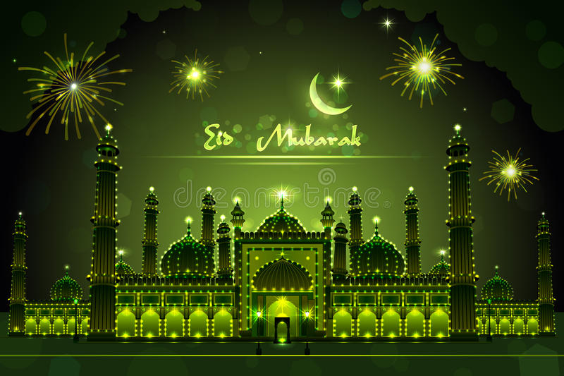 Good Easy Eid Al-Fitr Decorations - decorated-mosque-eid-mubarak-easy-to-edit-vector-illustration-32674339  HD_708990 .jpg