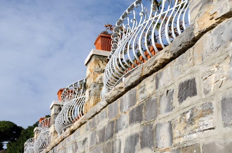 Download Decorated railings stock photo. Image of metal, rust - 23184944