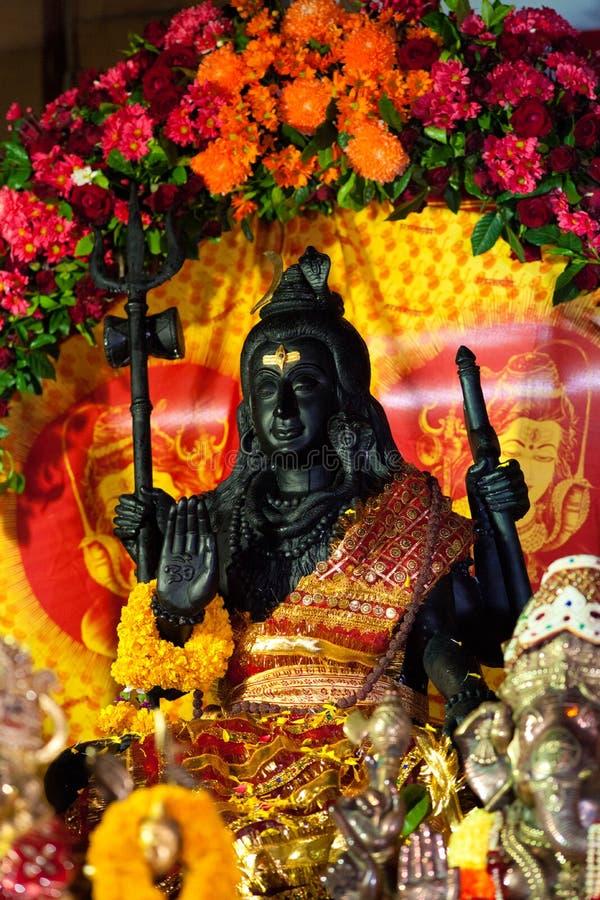Decorated Shiva Statue Stock Photos