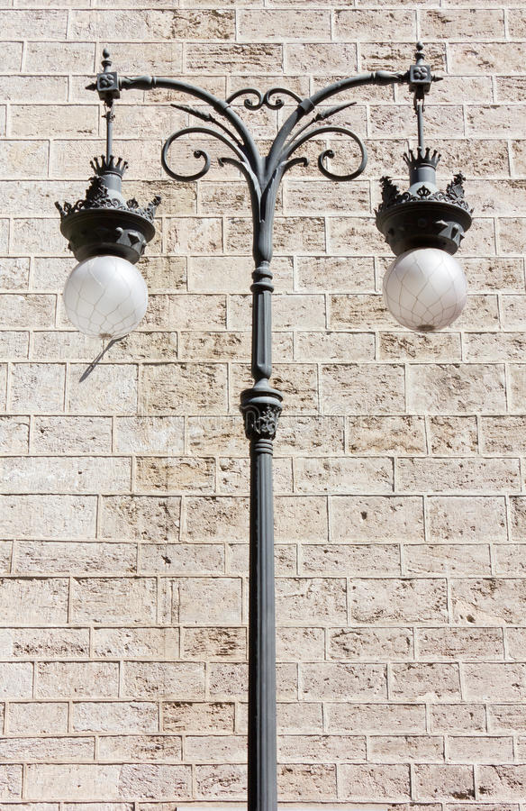 Download Decorated Streetlamp stock photo. Image of sphere, texture - 40264708