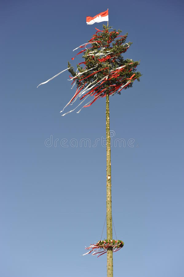 Download Decorated Tree At A Bavarian Country Fair Stock Image - Image: 26516935
