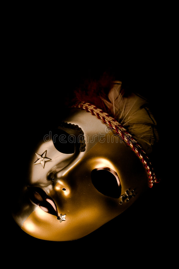 Download Decorated Venetian Mask stock photo. Image of intricate - 572926