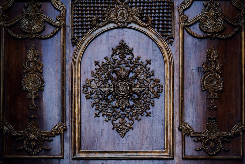 Download Decorated wall stock photo. Image of detail, decorative - 31313248