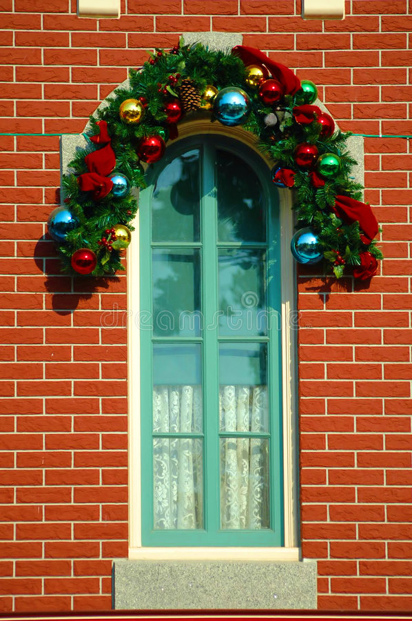 Decorated Window royalty free stock photo
