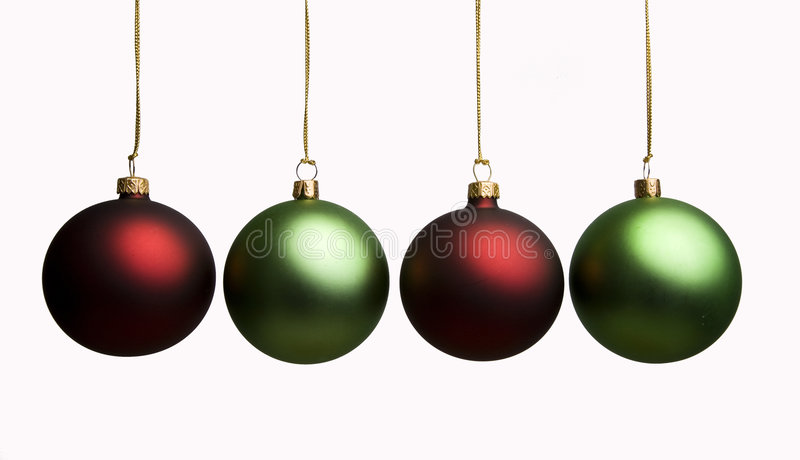 Decoratie 4 van Kerstmis royalty-vrije stock fotografie