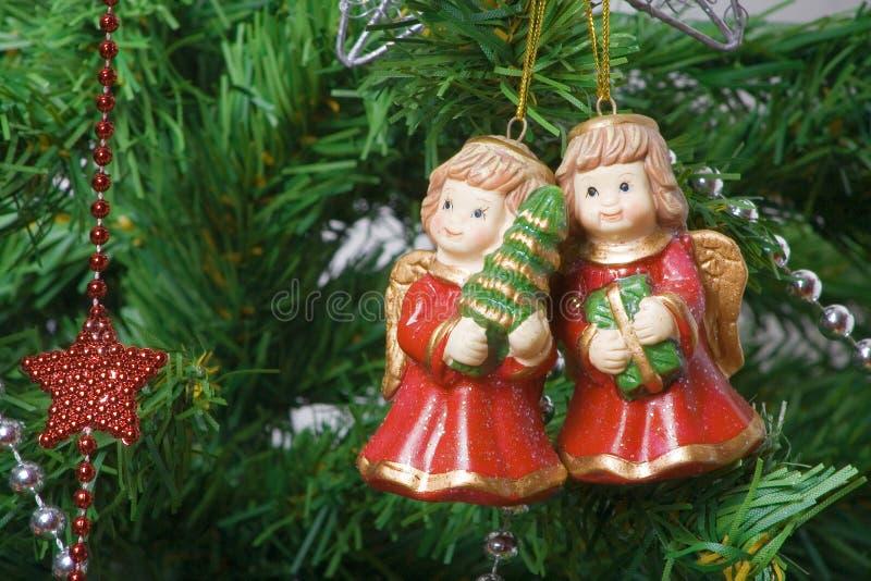 Decoratie 6 van Kerstmis royalty-vrije stock foto