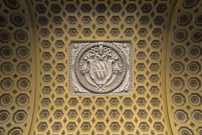 Decoratie van de Basiliek van St John Lateran royalty-vrije stock afbeeldingen